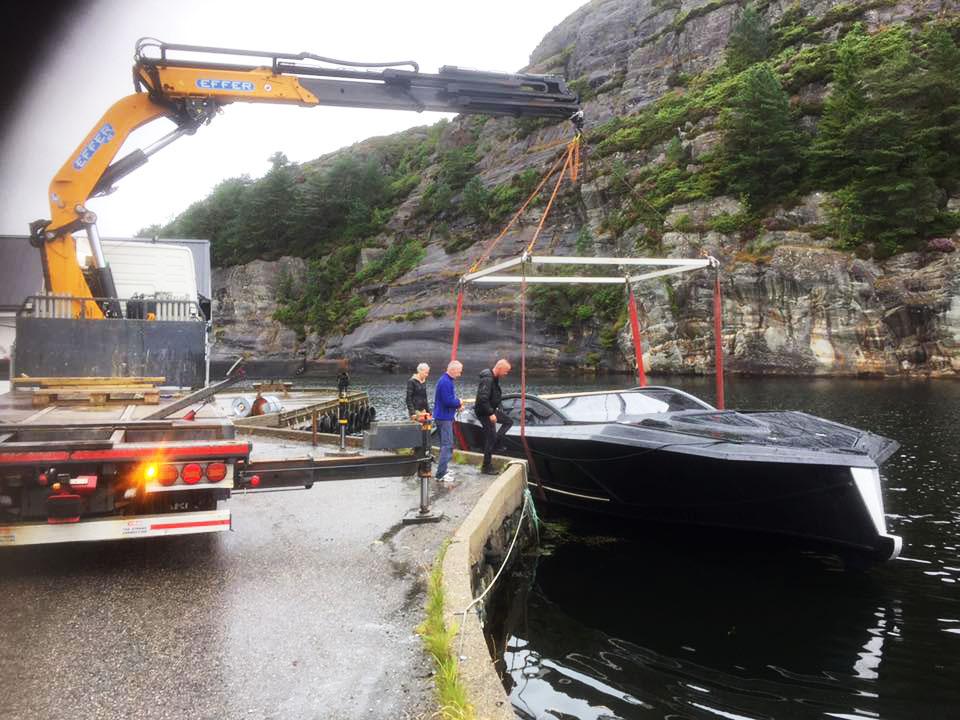 Utsetting av båt